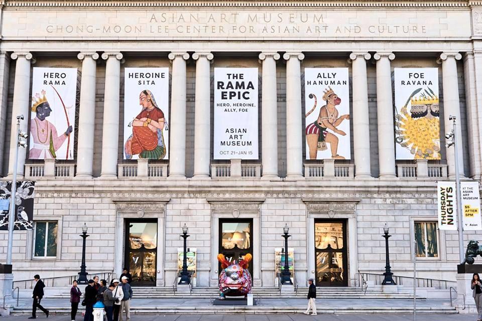 Asian Art Museum, San Francisco CA - Cyrus Cylinder US Tour 2013