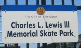 Charles L. Lewis III Memorial Skate Park