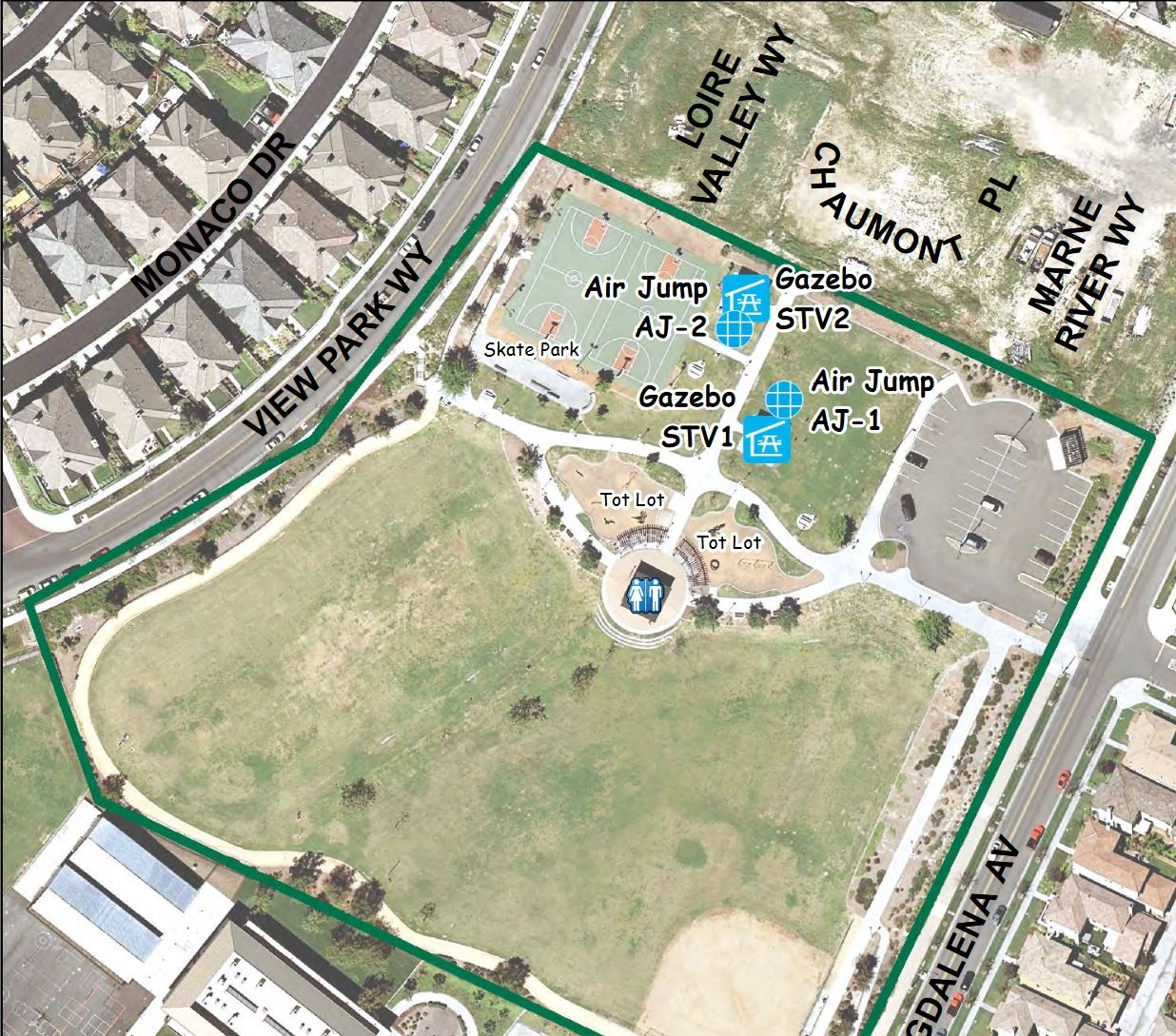 Santa Venetia Park